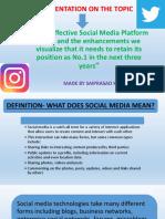 NIIT MOST EFFECTIVE SOCIAL MEDIA PLATFORM TODAY