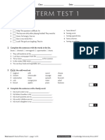 Duke 3 Final Test Paper 1