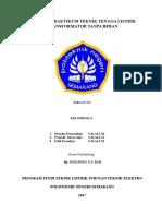 JOB 6 - Kelompok 5 (Transformator Tanpa Beban) - LT 2C