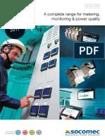 201803 Socomec Catálogo Equipos Medida Monitorización Gestión Energética