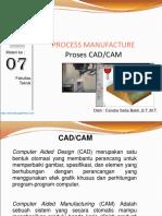 Materi 7 Proses CAD CAM