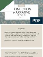 nonfiction narrative ppt
