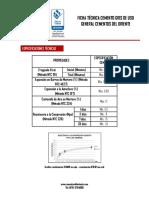 Ficha Tecnica Cemento Ug Cemor (1)