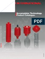 Hydac Accumulator Product Catalogue Diaphragm Accumulators