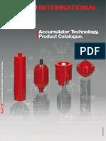 Hydac Accumulator Product Catalogue Diaphragm Accumulators