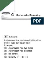 Mathematical Reosoning