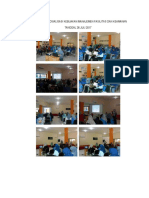 Dokumentasi Sosialisasi Kebijakan Manajemen Fasilitas Dan Keamanan