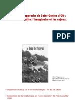 Le Loup s'Approche de Saint Géniez d'Olt