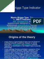 MyersBriggs Type Indicator