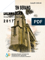 Kabupaten Serang Dalam Angka 2017