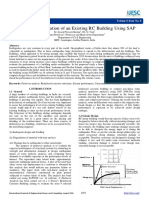 Performance Evaluation of an Existing RC Building Using SAP