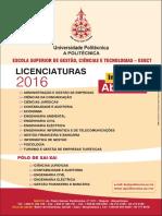 Cartaz Licenciaturas 2016 Esgct