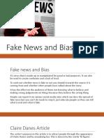 fake news and bias