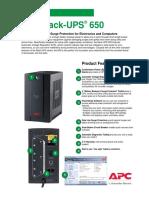 APC Back-UPS® 650