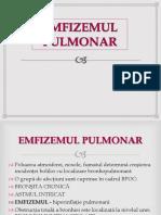 EMFIZEMUL PULMONAR