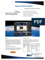 GD Satcom Model 950 Touch Screen Satellite Antenna Control System