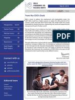 Skills Newsletter - SPRING