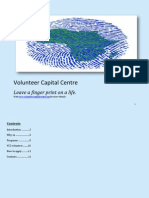 Volunteer Capital Centre Brochure