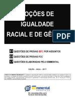 10 EA CQ Nocoes de Igualdade Racial e de Genero PM-BA Soldado Demonstracao