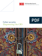 Cio Executive Council Cyber Security Handbook Web 3