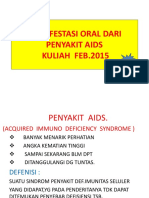 Copy of Manifestasi Oral Dari Penyakit Aids
