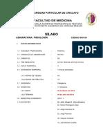 Silabo Fisio 2018
