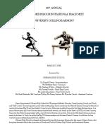 2018 Gene Armer Track Invitational Meet Program