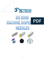 Die Bond Machine Dispenser Needle