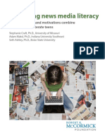 Measuring News Media Literacy How Knowle
