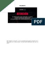 ARK Informe Antiguo - 2017