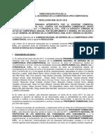 Resolución de ProCompetencia número 021-18 Que Desestima Denuncia