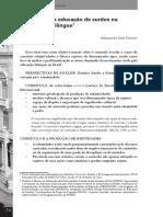 Currículo Para Educação de Surdos Na Perspectiva Bilíngue