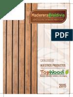 Catálogo Madera TopWood