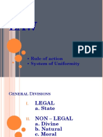 1. Nature of Laws, Legal Relations and Responsibilities, Intellectual Proper
