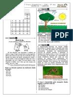 1ª P.D. - 2016 (Ciências 9º Ano - Blog Do Prof. Warles)
