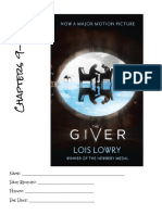 the giver  week 3 booklet