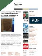 Cartazes expostos dentro do Centro Politécnico revoltam acadêmicos  Fábio Campana