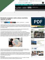 Estudantes Protestam Contra Cartazes Machistas Expostos Na UFPR - DCE - Educação - Bonde. O Seu Port