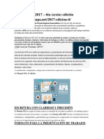Normas APA 2017 - 6ta Ed.