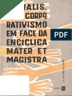 José Pedro Galvão de Sousa - Socialismo e Corporativismo Em Face Da Encíclica Mater Et Magistra