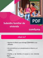 2018 Subsidio de Vivienda