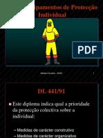 Equipamento de protecção individual.ppt