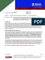 Allison Transmission oil change interval