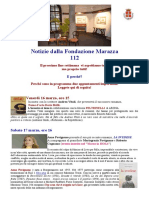 Marazza Newsletter 112