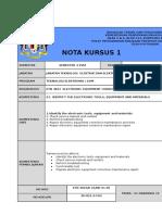 Nota Kursus k01 Nk-01-05
