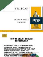fluency in english