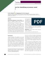 Accessory Canal PDF