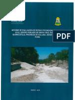 4192 Informe de Evaluacion de Riesgo Por Inundacion Pluvial en El Centro Poblado de Santa Cruz Distrito de Querecotillo Provincia de Sullana Departamento d