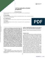 Protective role of a novel curcuminoid on alcohol and PUFA Induced hyperlipidemia
