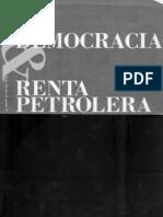 1989 España Luis Pedro Democracia y Renta Petrolera